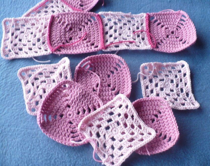 Cabas en tricot