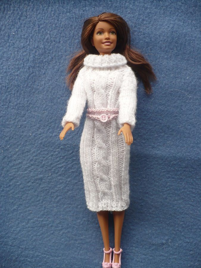 Robe pull pour Barbie
