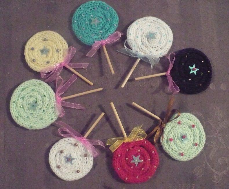 Atelier Tricot : autre déco tricotin