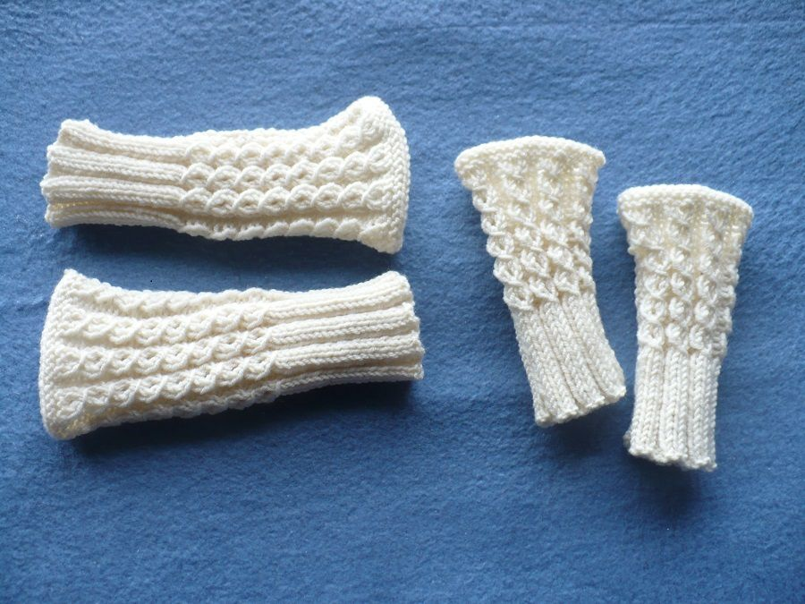 Atelier tricot : mitaines