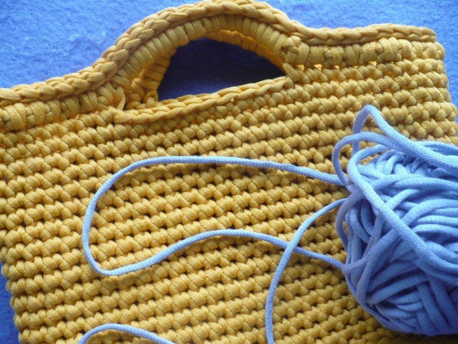 Atelier Tricot : Petit Cabas crochet