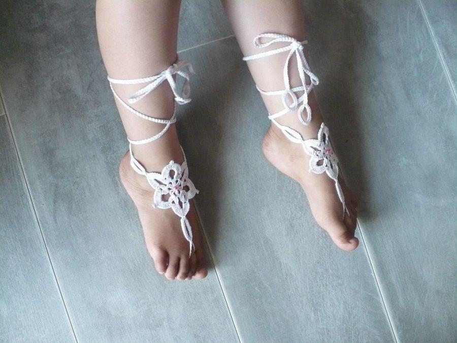 Les doigts de pied en éventail ...