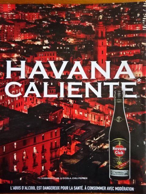 Havana Caliente cocktail, Havana Club, El Ron de Cuba 7 ans, Entreprendre Pernod Ricard, n°53-2008