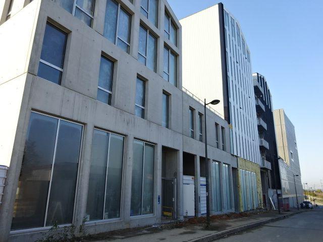 Angers, Cours Saint-Laud, les 7 façades différenciées avant, rue Fulton, Cl. Elisabeth Poulain
