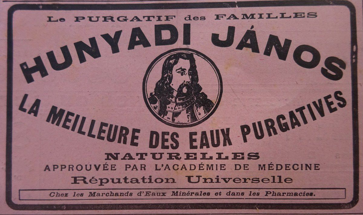 Hunyadi Janos, La Vie Illustrée n°23, 23.03.1899, Cl. Elisabeth Poulain