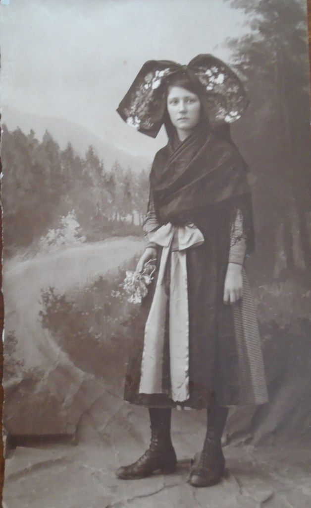 Carte postale, Photo Jeune Alsacienne, Cl. Elisabeth Poulain