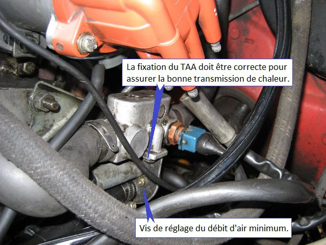 Fixation Tiroir Air Additionnel 205 GTi LE2-JEtronic