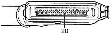 Branchement sonde Lambda sur calculateur LE2-Jetronic