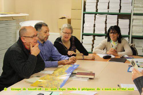 Invitations diverses sur le mois de mars, de Harkis Dordogne