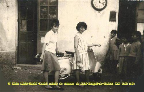 Avis de recherche CORSINI Chantal - de la colonie de st Laurent de Cerdans (66) -enfants de harkis en 1963
