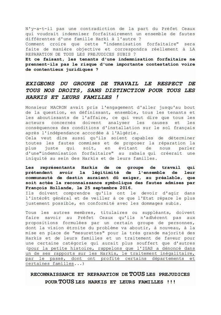 Compte - Rendu de la réunion du préfet Ceaux à Marseille (13)