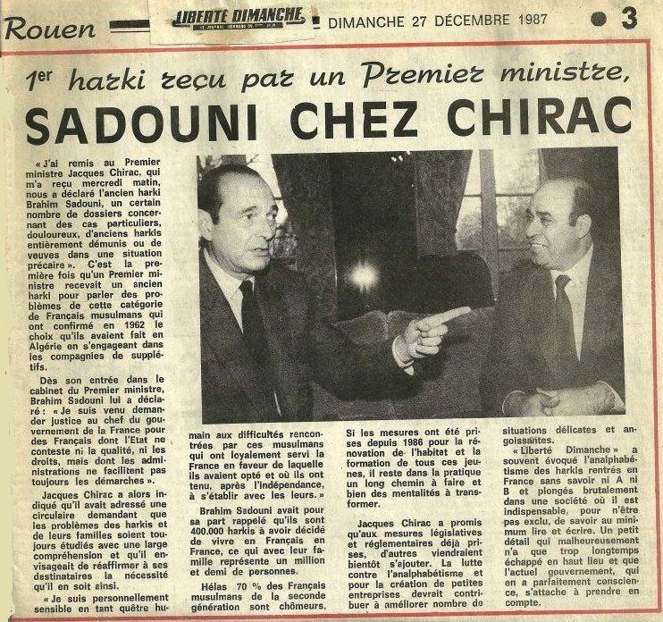 Retour en arrière  de Brahim Sadouni  ( Souvenirs de mes marches )