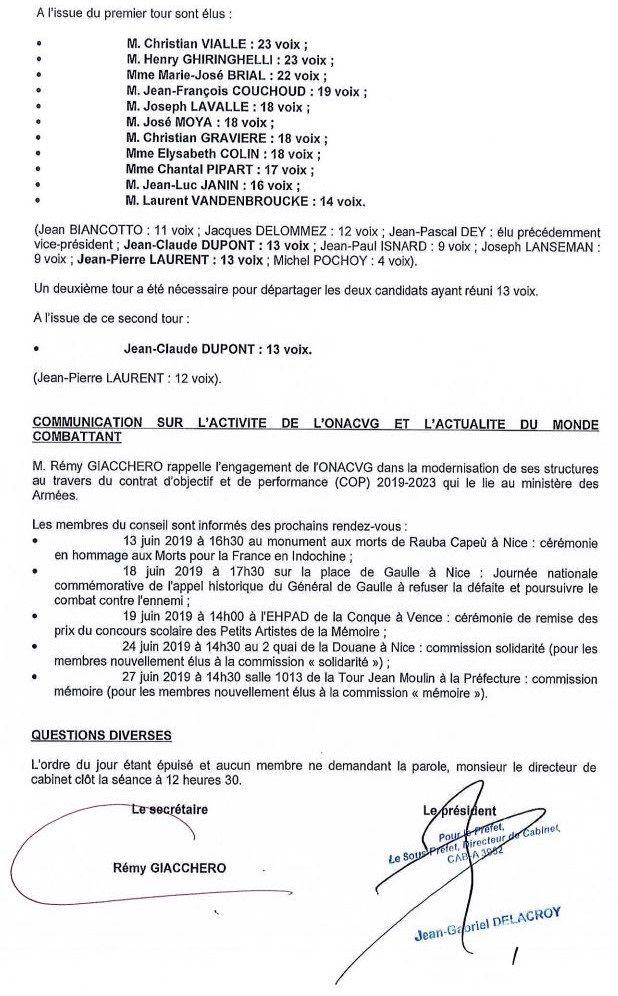 ONACVG, Service Départemental des Alpes-Maritimes (06)
