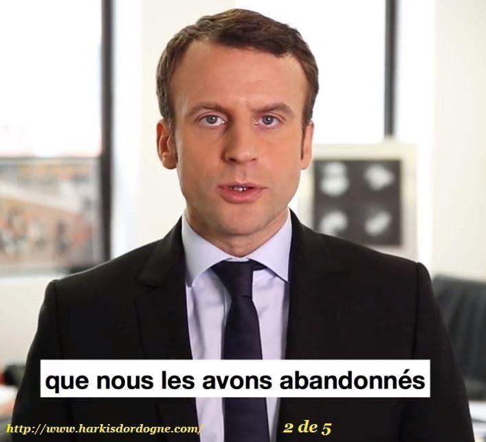 Colonisation : Avoir le courage de dire les choses.Emannuel Macron16/02/2017