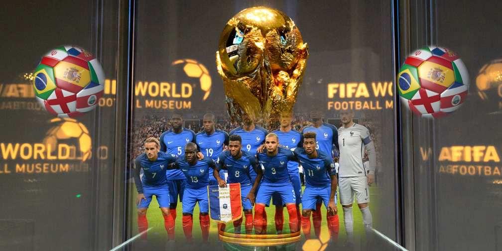 FIFA World cup: russia 2018..Au jour le jour............