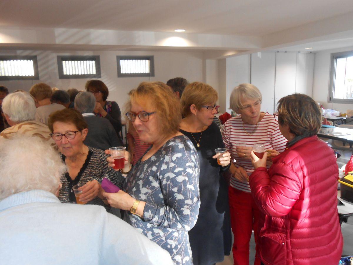 Rencontre annuelle avec nos amies de Saint Quay...