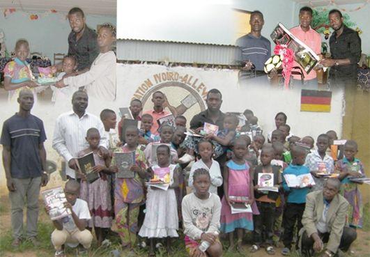 Gagnoa/Œuvre humanitaire : Un Gentleman fait d'importants dons à l'orphelinat ''Emmanuel''