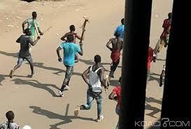 Cupidité ou magouille au Lycée Moderne de Gagnoa: Les élèves paralysent l'école et cassent tout parce que le proviseur Sidiki Dembélé leur aurait extorqué de l'argent
