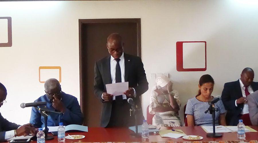 Présentation de vœux au Président de l'UVICOCI par les Maires:  Gilbert Kafana annonce de grandes perspectives pour 2018-