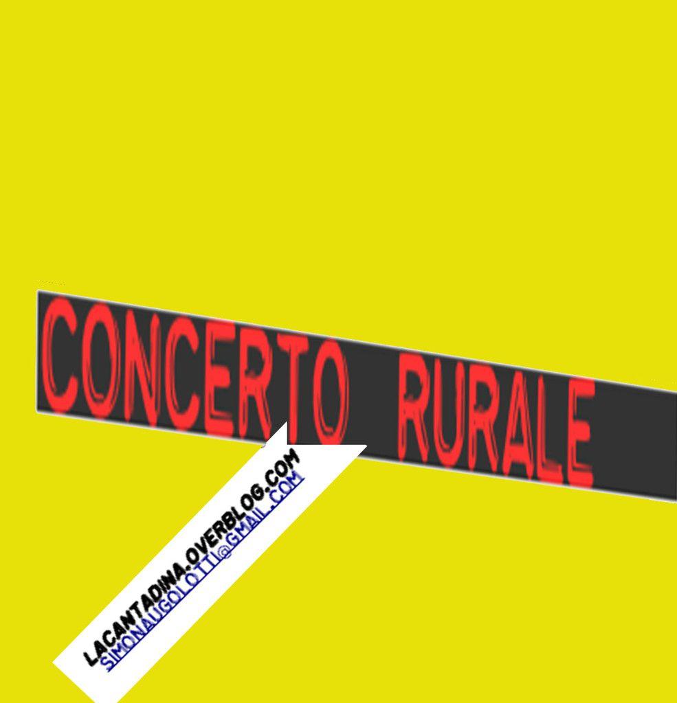 CD CONCERTO  RURALE
