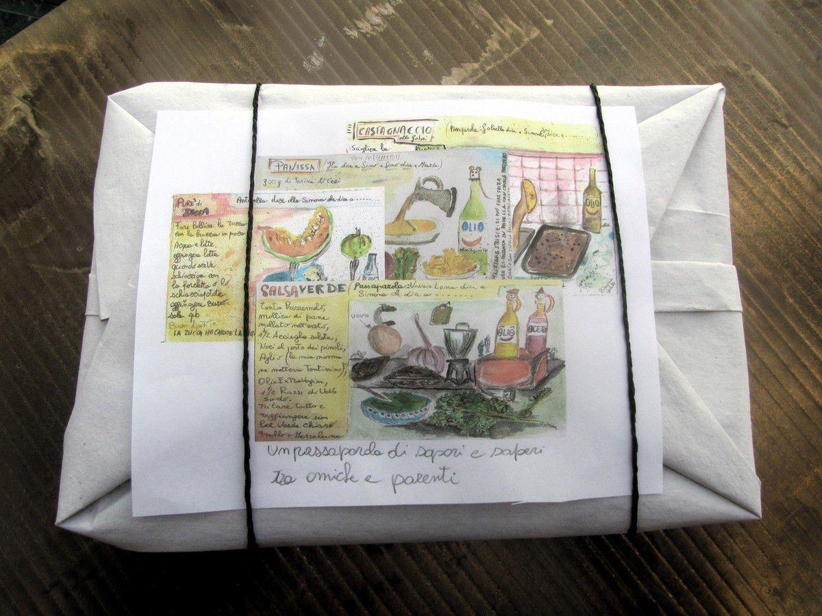 libretto a discesa  da appendere su cartoncino con fori rinfozati oppure plastificati (10.00 euro)