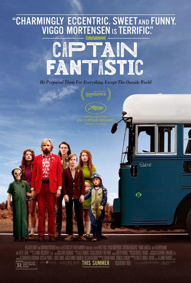 Captain Fantastic Bande-annonce