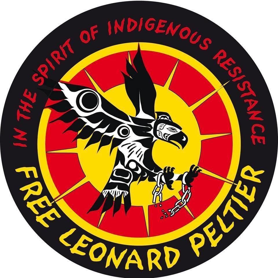 American Indian Movement (AIM)  FREE PELTIER !!!  RÉSISTANCE !!!
