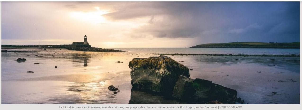Écosse, en 2020 mettez de l'eau dans votre whisky ! (Ouestfrance.fr / 20.01.20)