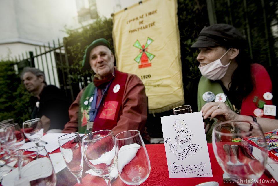 Déconfinement de la Commune Libre de Montmartre 23 juin 2020