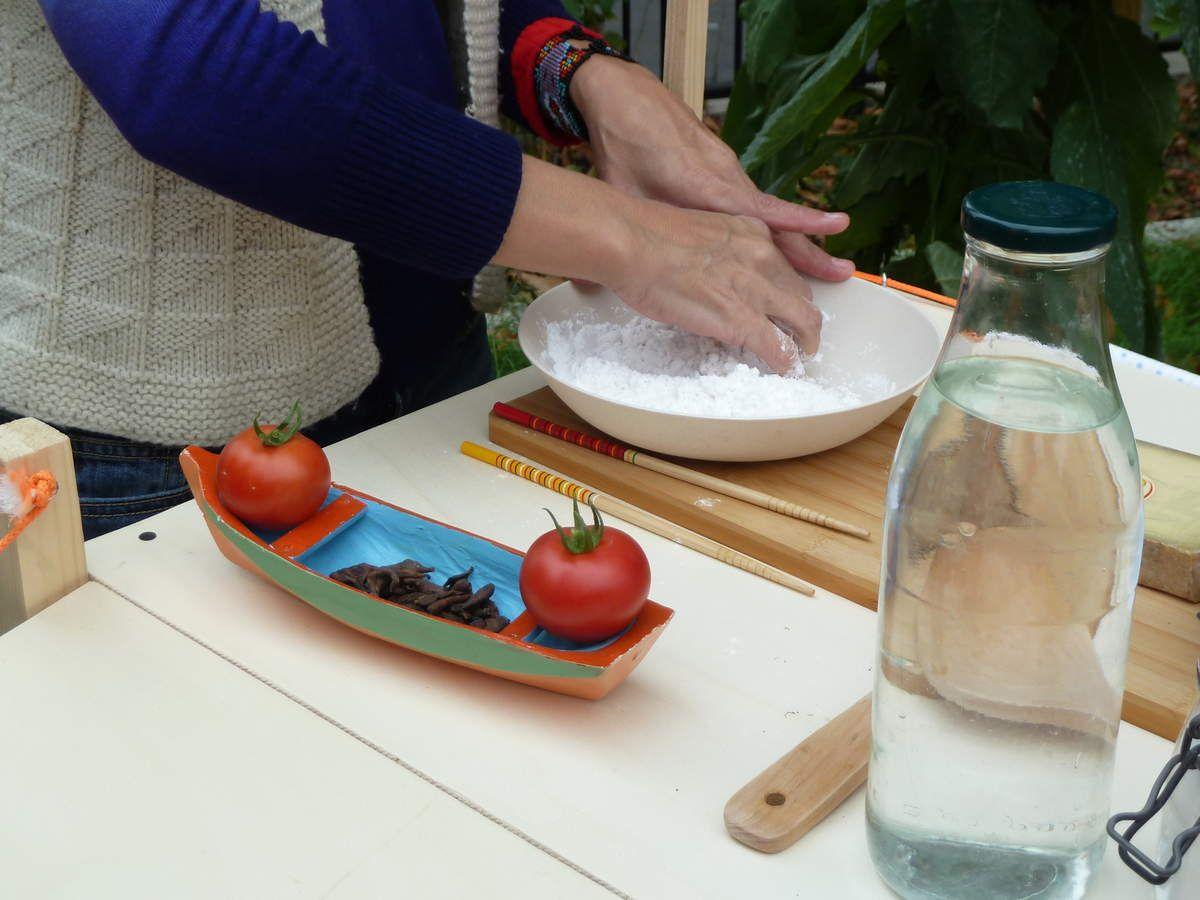 L'école et son quartier et la cuisine mobile du collectif 15 ALORS !