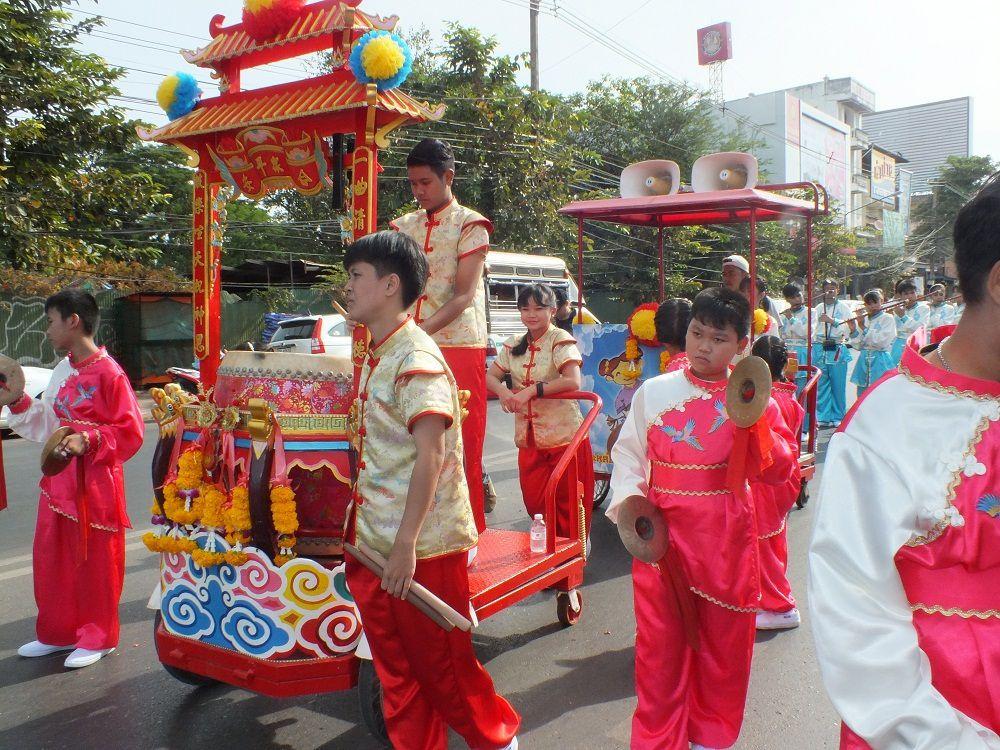 Udonthani: La Parade chinoise du 1e décembre 2017