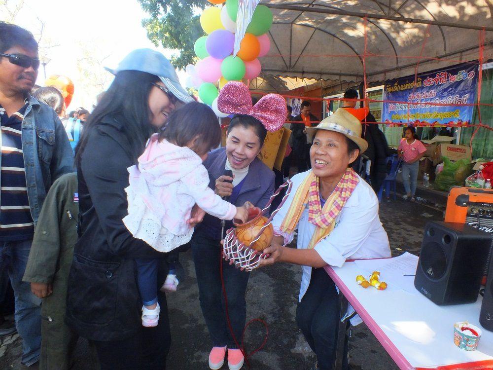 Udonthani: Samedi 13 janvier 2018, journée des enfants en Thaïlande.