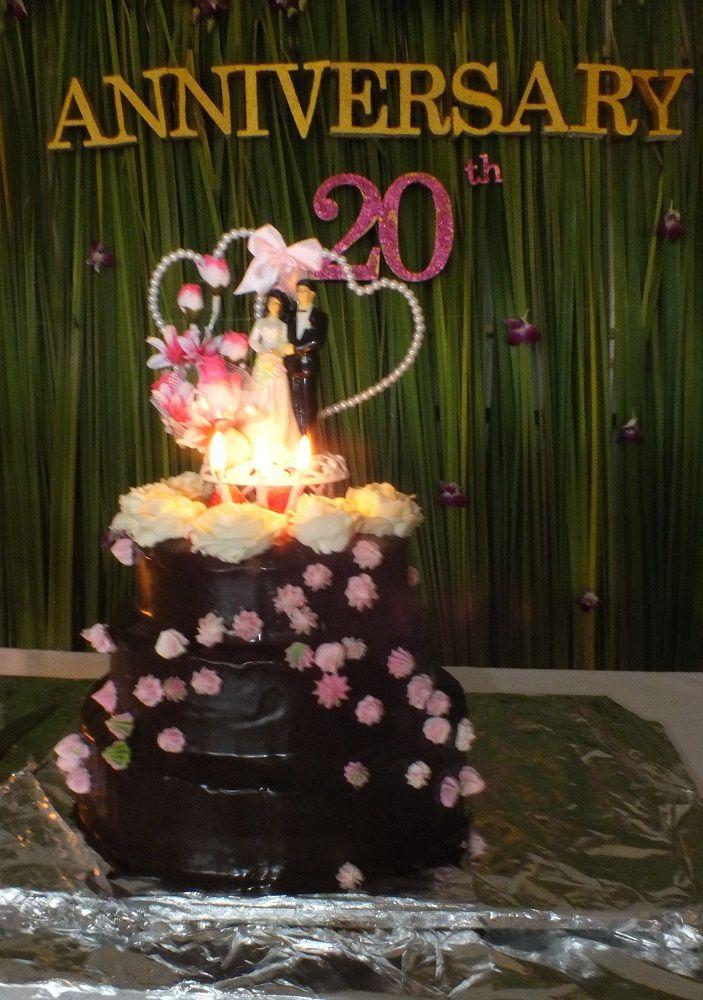 21 janvier 2018: Udonthani: 20e anniversaire de mariage d'Alain et de Koy