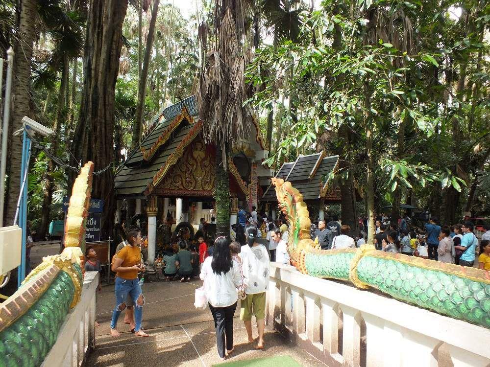 11 août 2018: Udonthani. Sortie au Wat Siriuttho (Wat Kham Chanod)
