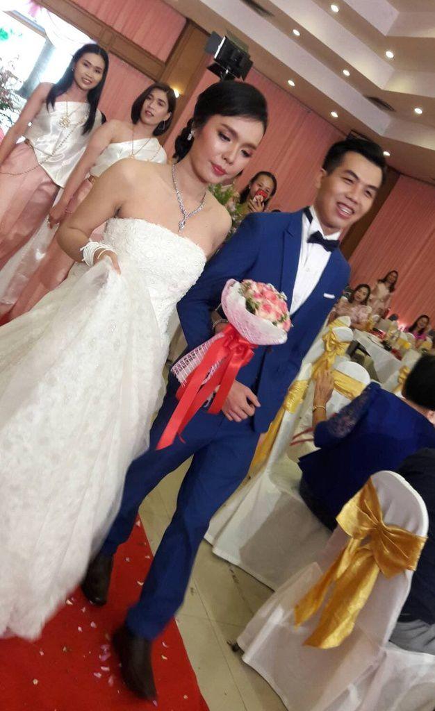 12 mai 2019: Invitation au mariage de Pawinee et Phongpisut