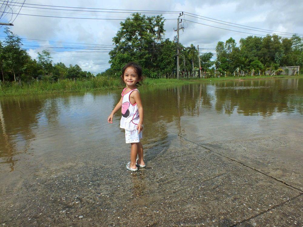 Udonthani : 27 août 2019. La saison des pluies est bien là.