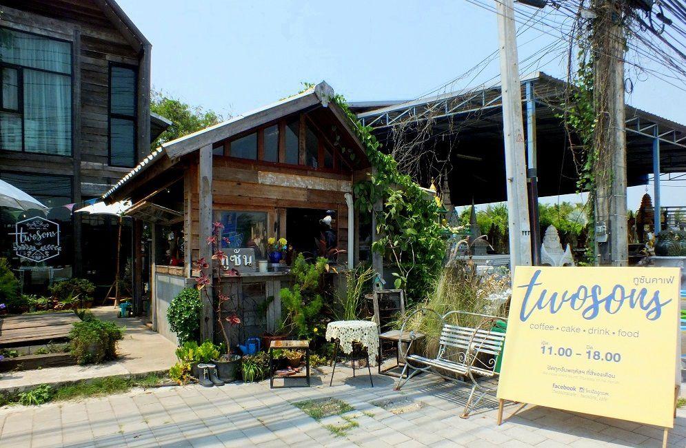 Udonthani: Le «  Twosons Restaurant» J'ai testé.