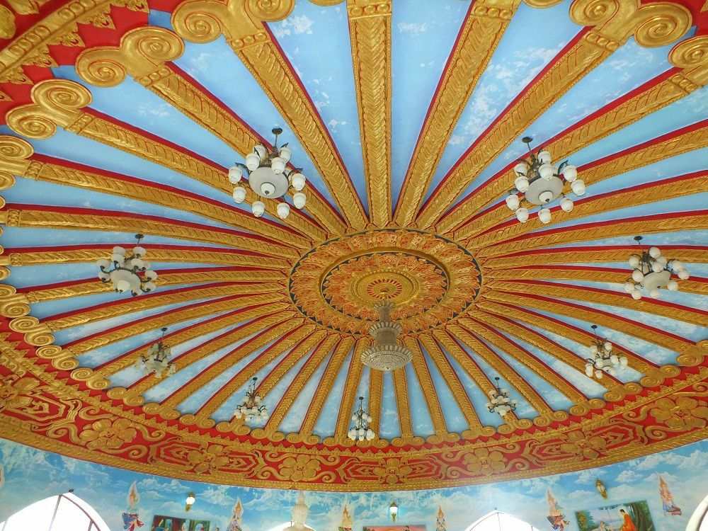 1e mars 2020 : Udonthani, visite du temple « Phuttha Utthayan Wat Pa Dong Rai ».