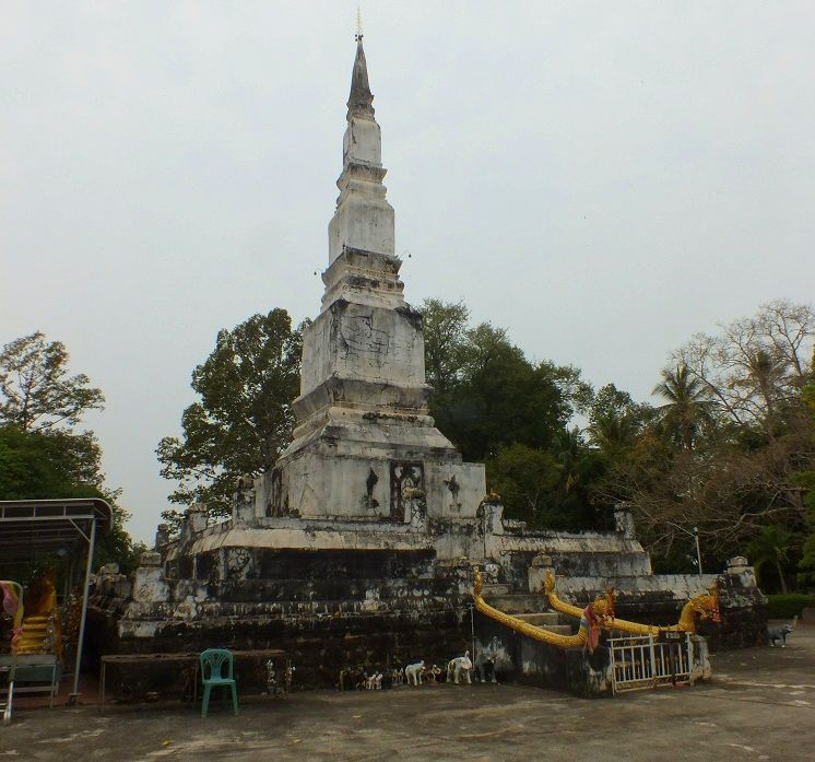 15 mars 2020: Visite du Wat Phrathat Don Kaeo. วัดพระธาตุดอนแก้ว