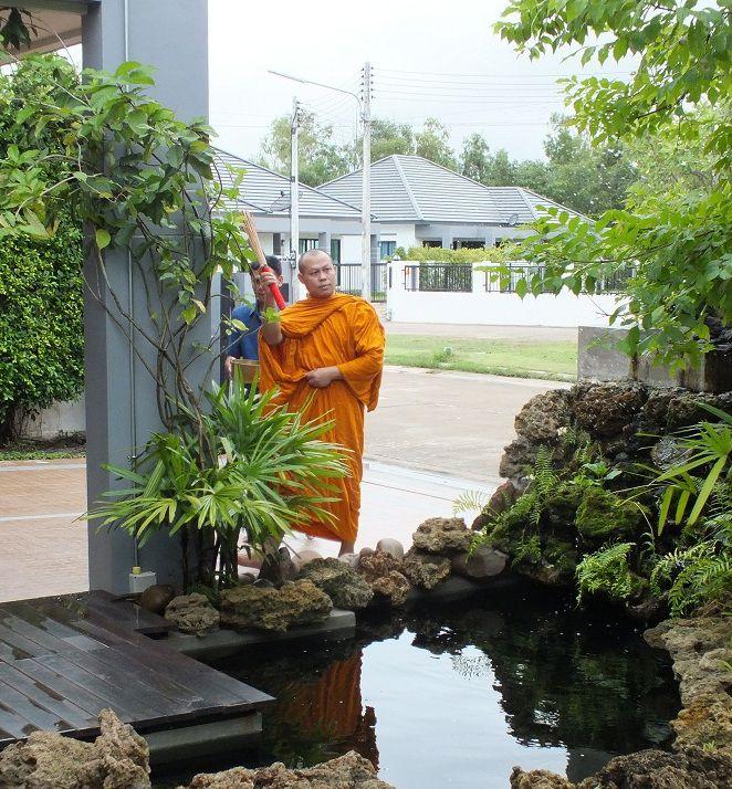 4 juillet 2020: Udonthani, invitation à une bénédiction de maison.