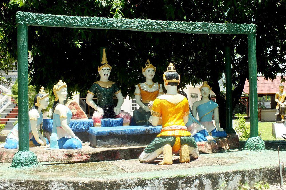 Sortie du 6 juillet 2020 : Udonthani. 3e partie : Visite du Wat Pho Chai Si.