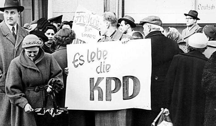 Il y a 60 ans, le 17 août 1956, l'Allemagne capitaliste interdisait le Parti communiste allemande (KPD).