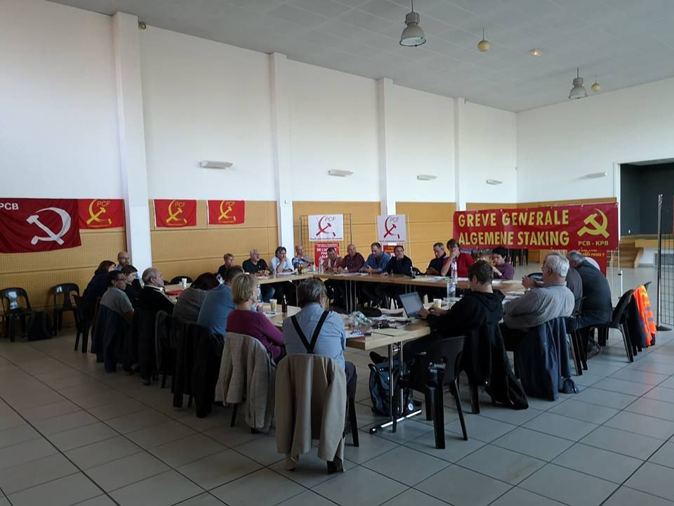 Rencontre internationale à Thionville - Parti communiste de Belgique