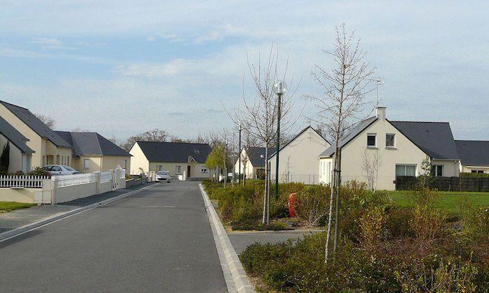 Un lotissement en Loire-Atlantique
