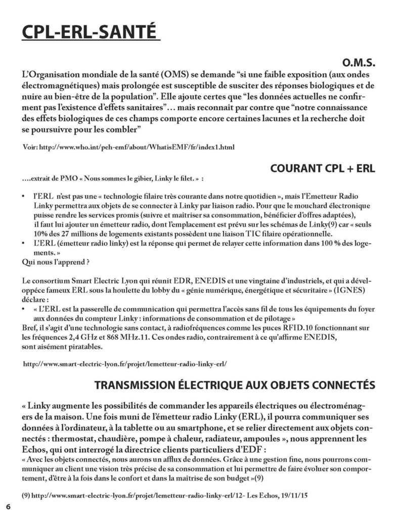 04/08/17, Communiqué de presse de StopLinky Bayonne