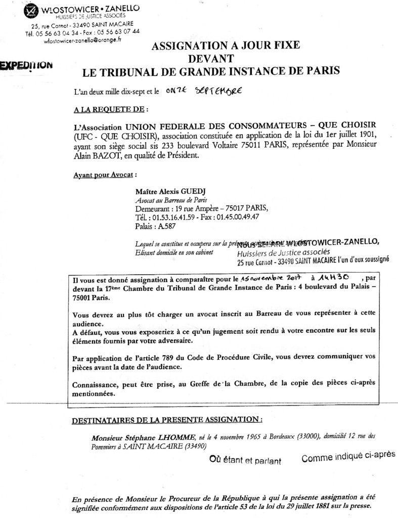 Linky : procès le 15/11/17 sur assignation d'UFC-QueChoisir, en plus des trois plaintes !