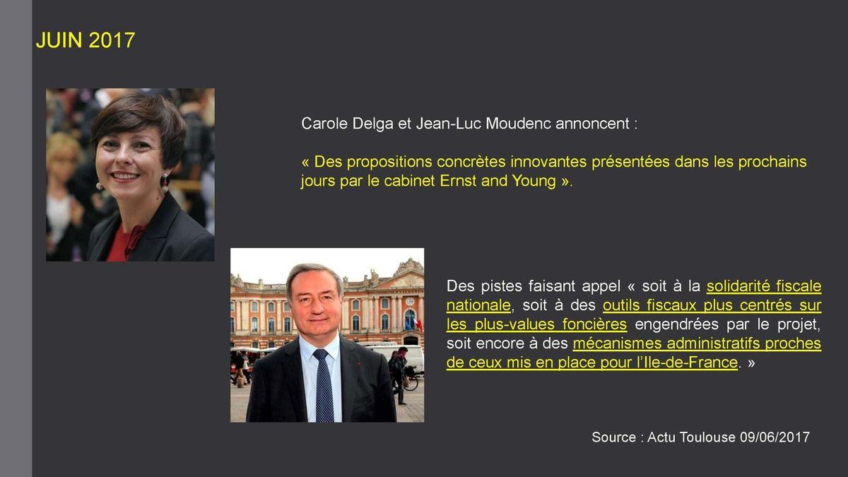 27/09/17 Conférence de presse du CADE : Les pistes de financement du GPSO au fil du temps