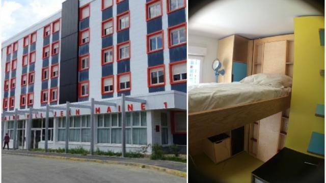 La résidence Maine 1 à Rennes héberge les 10 lits connectés pilotes conçus par Artisans IoT. Installés sur la structure des lits escamotables, les capteurs transmettent des données en temps Coline PAISTEL.