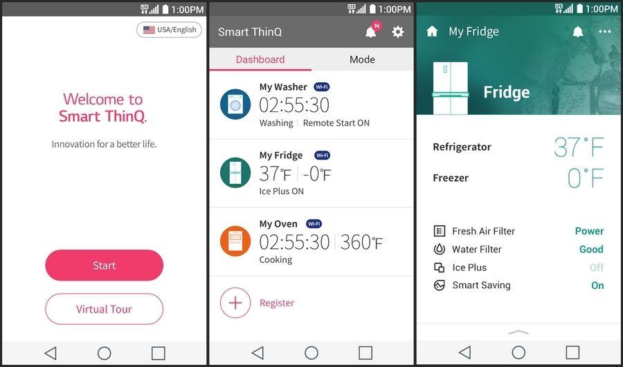 LG - L'application mobile SmartThinQ
