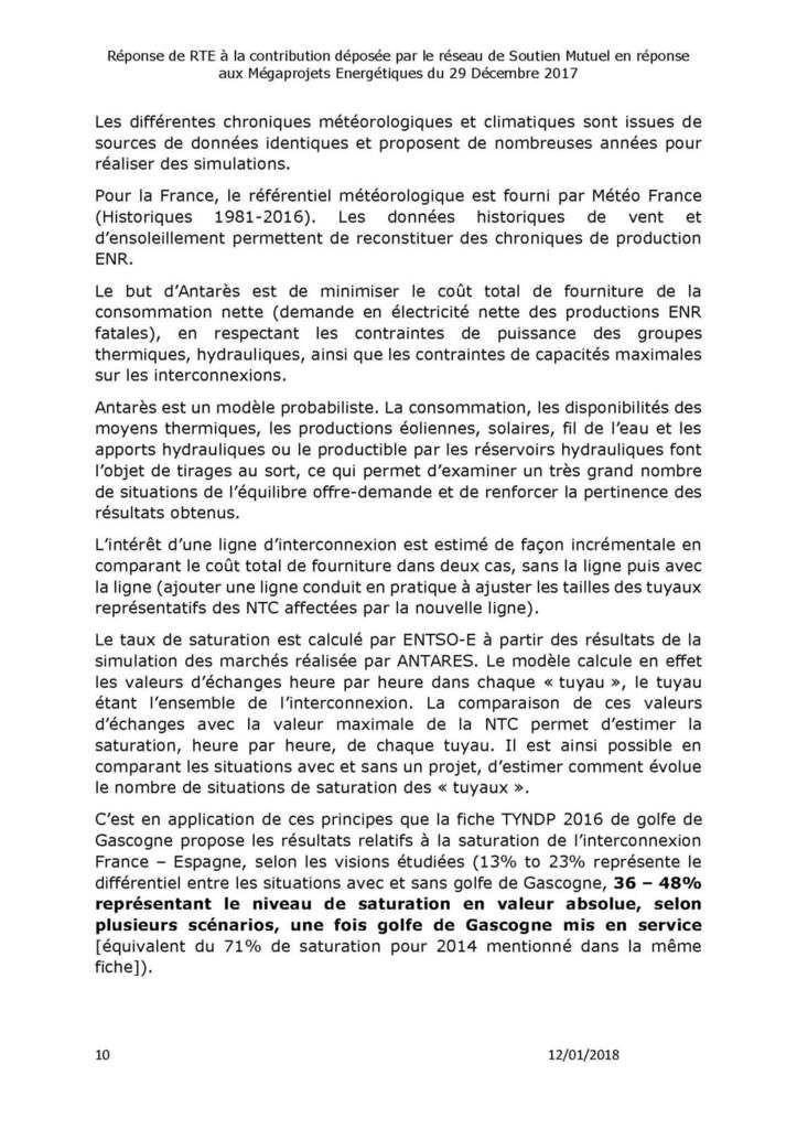 Megaprojets Energétiques : Le Réseau de Soutien Mutuel exige que RTE réponde à ses questions sur le projet d'interconnexion du Golfe de Gascogne